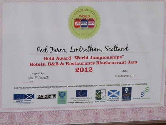 Kirriemuir, UK: Gold award