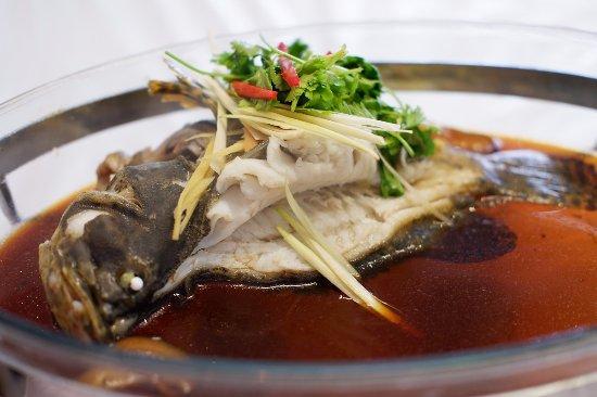 Saung Grenvil Restaurant : Ikan Kerapu Macan Steam ala Hongkong