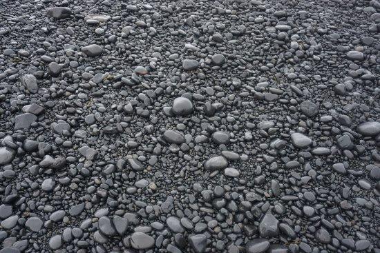 Hellnar, Islandia: Pebble stone beach