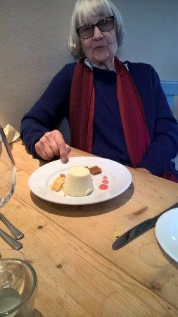Knighton, UK: Splendid dessert