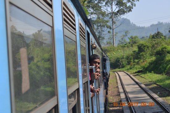 Anthony's Church: Train journey to Bandarawela