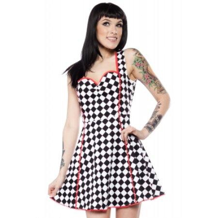 Jerome, AZ: Checkered Dress