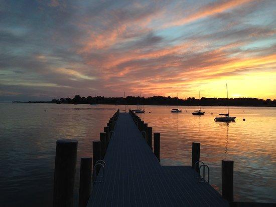 Stonington, CT: Sunset