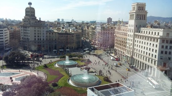 Vista desde el corte ingl s picture of plaza de cataluna - El corte ingles plaza cataluna barcelona ...