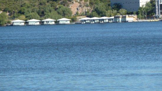 Potrero de los Funes, Argentina: Il lago