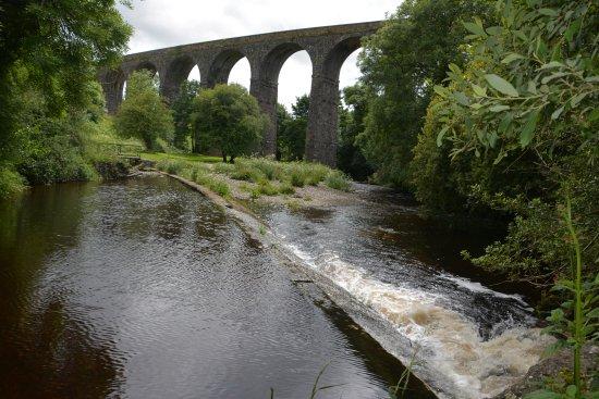 Bunmahon, Ирландия: Greenway_Kilmacthomas viaduct, Mahon river