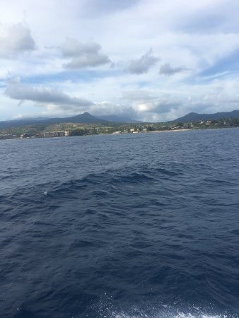Koloa, HI: Kauai is gorgeous especially the view from the water