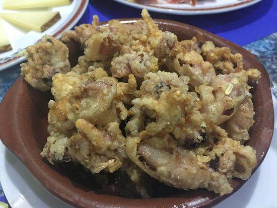 Cafeteria Menphis: calamari