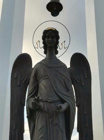 Памятник Чернобыльский ангел