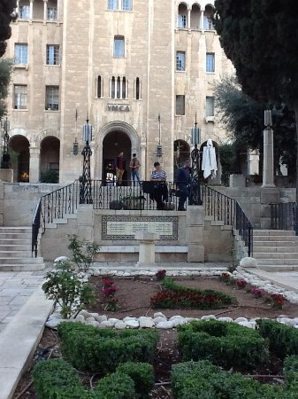 Jerusalem International YMCA: Front view of the Ymca Hotel!