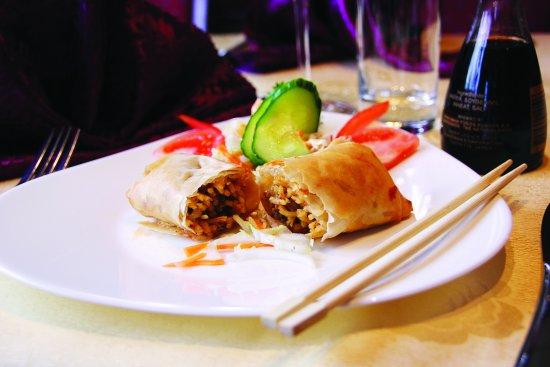 Geilo, Norwegia: #3 Sichuanrull med kjøttdeig, spagetti og ost