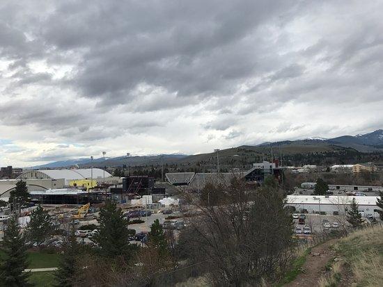 University of Montana: View of the stadium