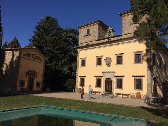 Radda in Chianti, Italia: The Villa on the grounds