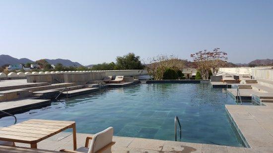 RAAS Devigarh : Temperature control Pool. Refreshing.