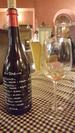 Garriguella, Spain: Carta de vinos original