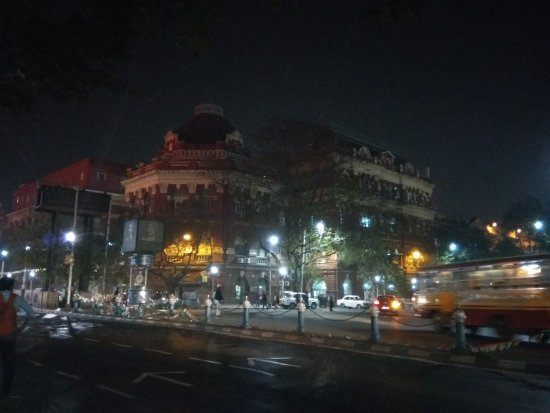 BBD Bagh (formerly Dalhousie Square): BBD at night