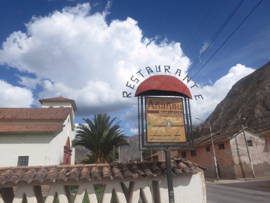Ananau Restaurante: Ulaz u restoran