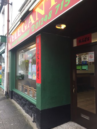 Menai Bridge, UK : Elegant Chinese Takeaway