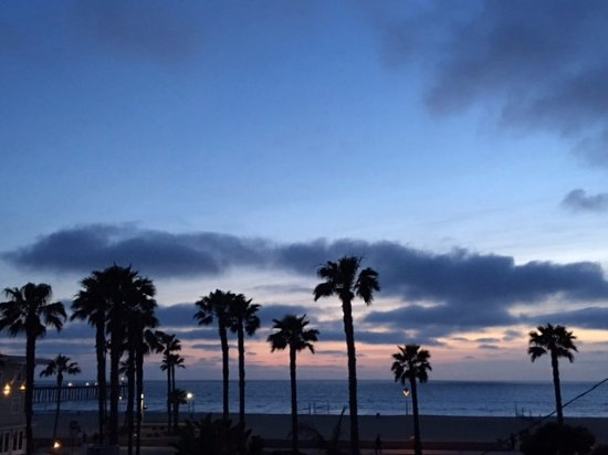 Hermosa Beach, CA: View from My Room!