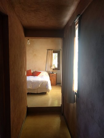 Aldebaran Hotel & Spa: View from the family area toward the bedroom