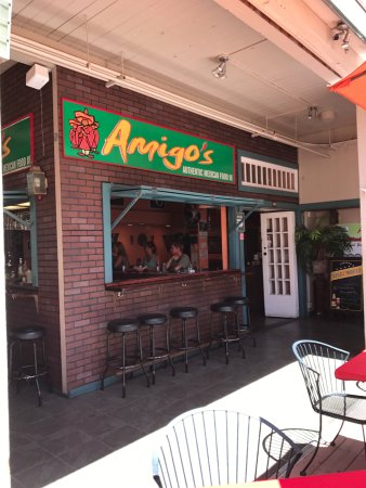Amigo's: Located in the old Cinema shopping area