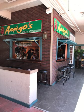 Amigo's: Very friendly servers and excellent food