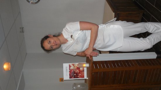 Hotel Club mmv Les Melezes: Julie, reponsable du SPA une professionnelle !