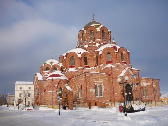 Laishevo, Russland: Собор Софии зимой