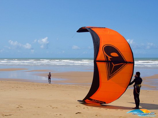 ‪Vendee Sports Ocean - Kitesurf‬