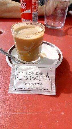 Restaurant Can Paquita: Nuestra consumicion