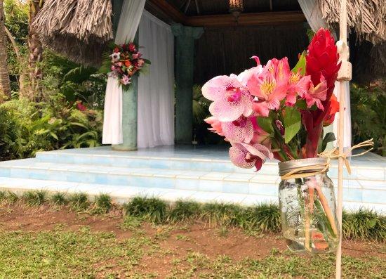 S Swept Away Wedding Ceremony In The Garden