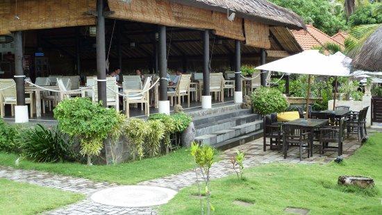 Kubu, Indonesien: Restaurant