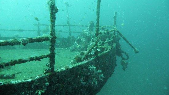 Kubu, Indonesien: Home reef wreck