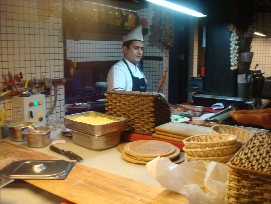 Faros kebap: تجهيز الطعام