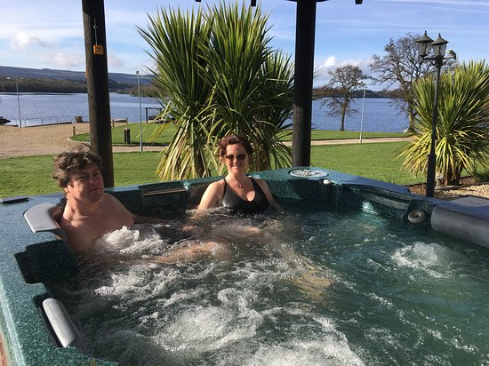 Outdoor Mini Jacuzzi.Mini Spa Area Hot Tub Picture Of Rossharbour Enniskillen