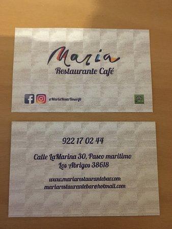 Maria restaurante los abrigos