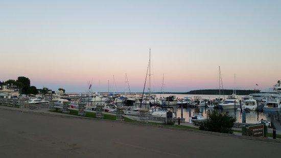 Harbour View Inn: Harbor at sunset