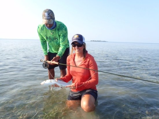 Blue Reef Adventures Ltd: Fish the flats for Bonefish and Permits