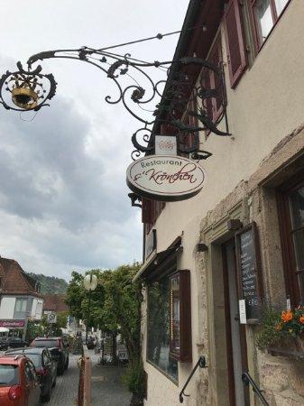 Weinstadt, Germany: Restaurant ´s Krönchen