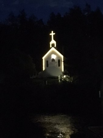 Roche Harbor Resort: The chapel at night
