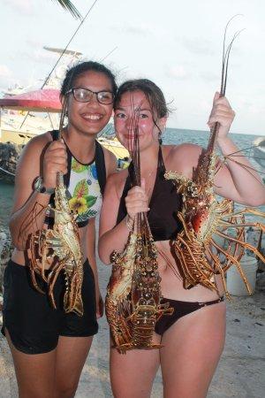 Blue Reef Adventures Ltd: Lobster for dinner?