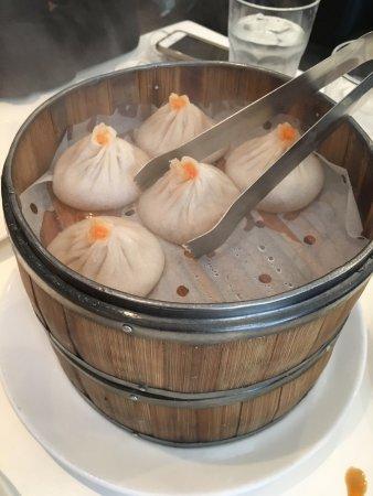 Fort Lee, NJ: Crab soup dumpling  Eggplant  Book Choi  Pork dumplings are our favorites
