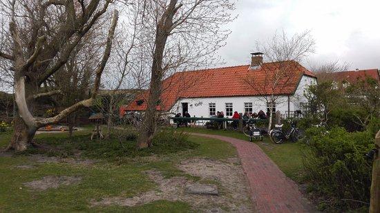 Cafe Kluntje: Terrasse vorm Café