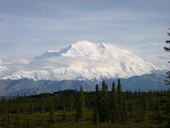 Mt. McKinley/Denali from Wonder Lake Campground.