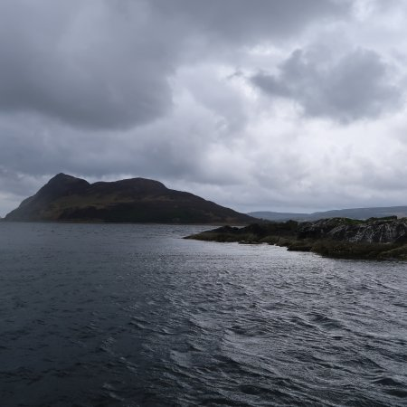 Lamlash, UK: Views you only get from sea