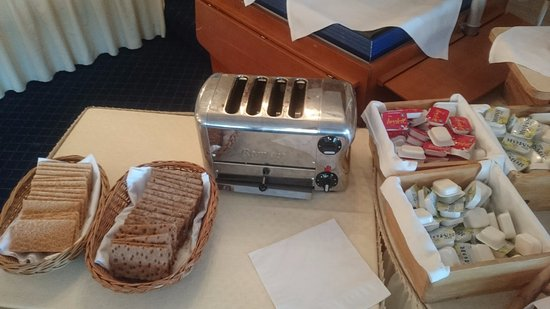 Ulvik Municipality, Νορβηγία: Fresh baked bread for Breakfast