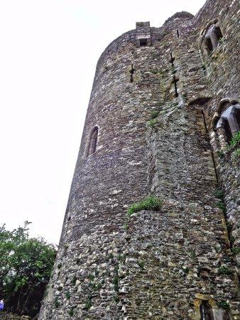 Ferns Castle Co. Wexford Original 'bathroom' still in tact! Photo by Barbara Glynn