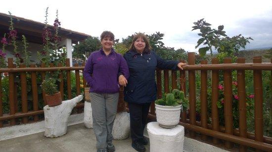 Atuntaqui, Ecuador: Una increíble vista, cuenta con un huerto!