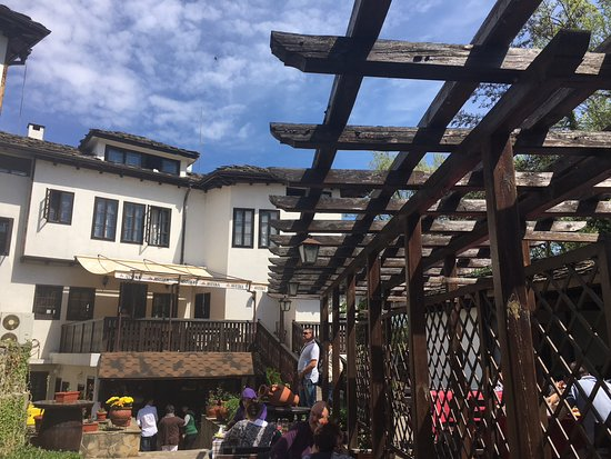 Tryavna, Bulgarie : Courtyard
