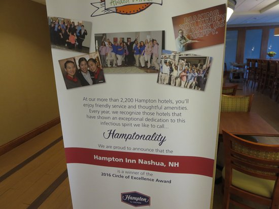 Hampton Inn Nashua Friendly And Accommodating Staff Hot Tub Pool Are Excellent